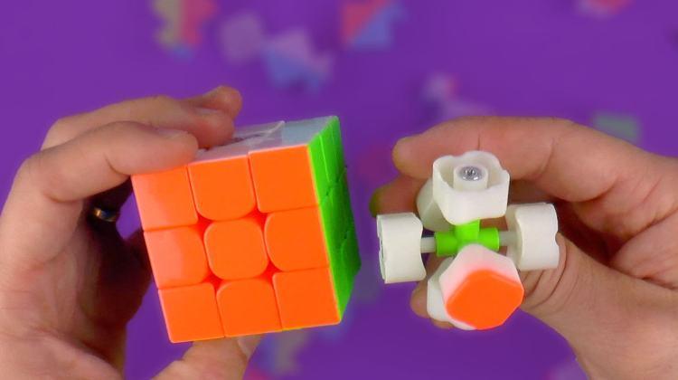 Binnenwerk kubus