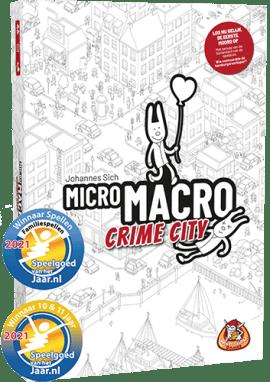 Micro macro crime city voorkant doos