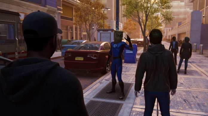 Update 1.14 Adds Fantastic Four Suits to Spider-Man