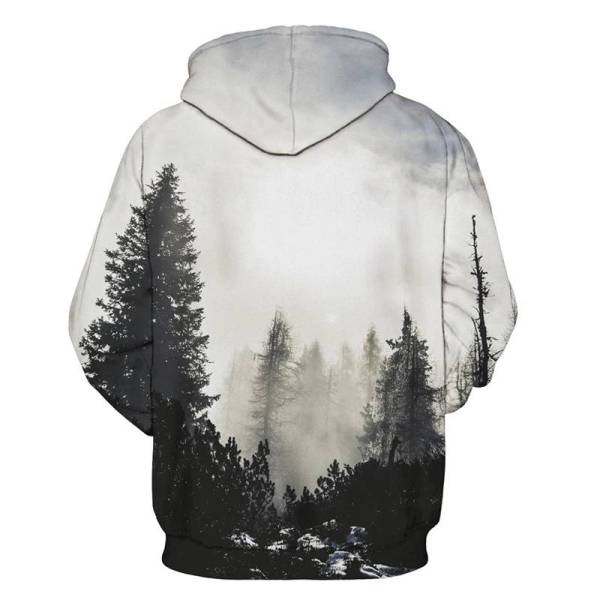 gamer-protocol-forest hoodie - back