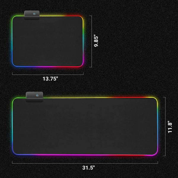 gamer-protocol-gaming-LED-13-colors-non-slip-waterproof-mouse-pad-large-and-small-sizes