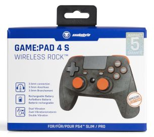 snakebyte PS4 Game Pad 4 S wireless RockT Packaging