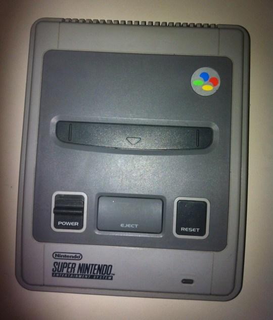 Super Nintendo avec switch 50/69 htz