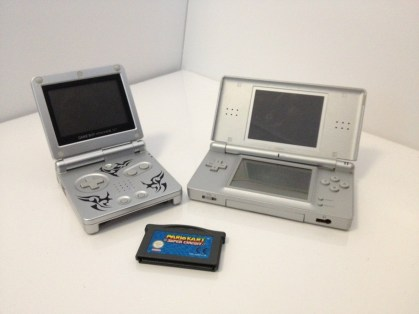 GBA SP + DS Lite