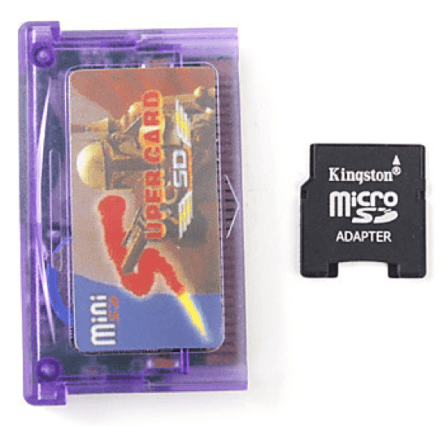 SuperCard pour GBA