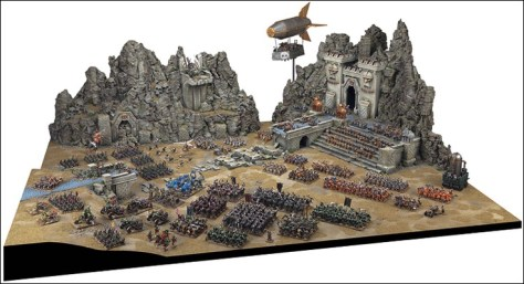 All mini gamers imagine grand battles on massive tables like this but it takes hundreds of hours and dollars before you get here. You will want to make sure you really love it before you embark on a big project like this.