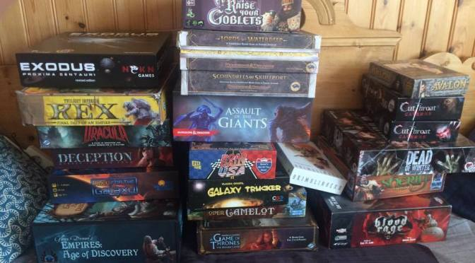 Board Gaming Super Weekend II: Quick Reviews