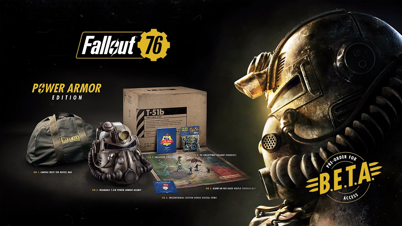 Fallout 76 200 Collectors Edition Mit Power Armor Helm
