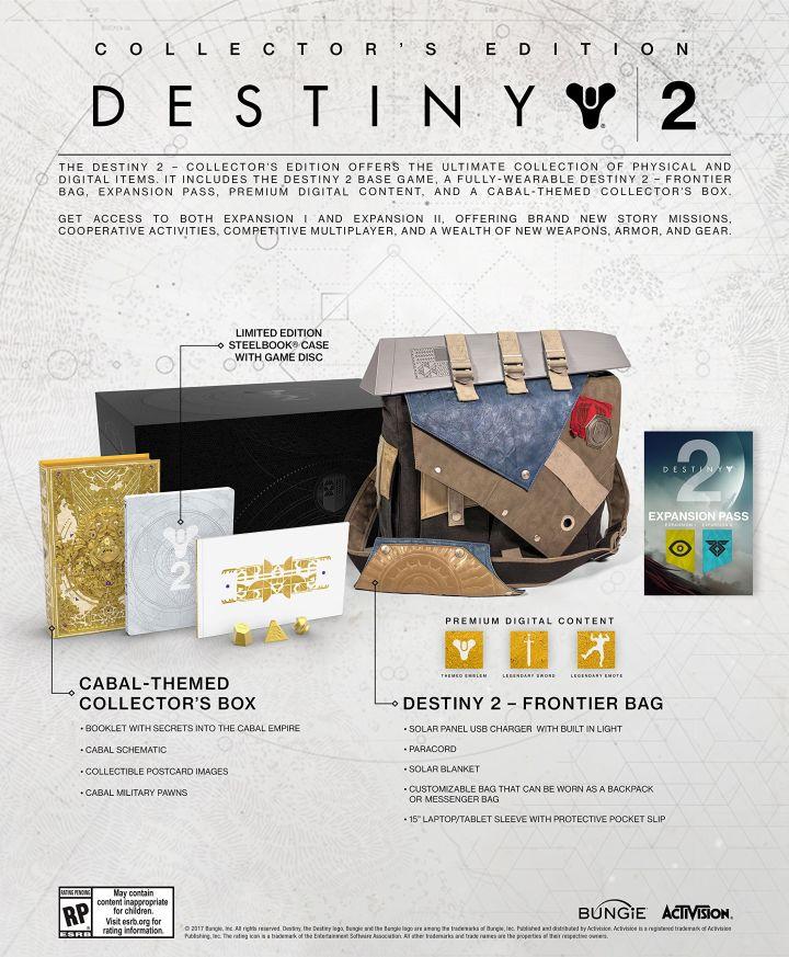 Collector's Edition Destiny 2