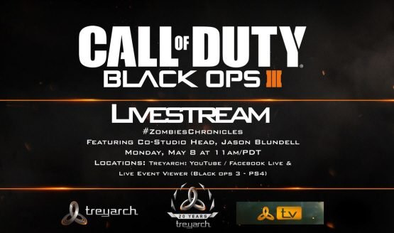 Call of Duty Black Ops 3 Zombies Chronicles Live Stream Details