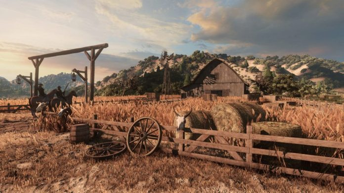 Wild West Online land lots and housing