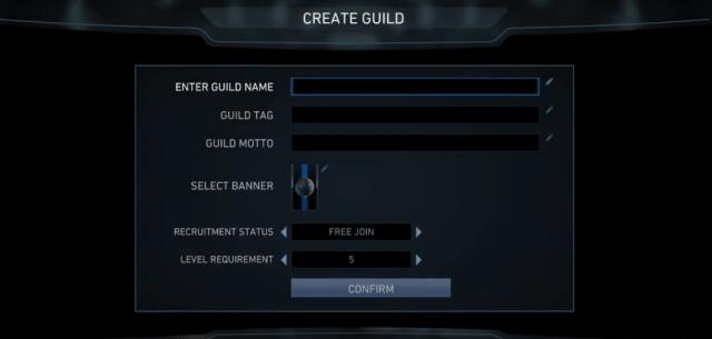Injustice 2 Create a Guild screenshot