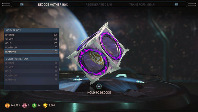 Injustice 2 Diamond Mother Box screenshot