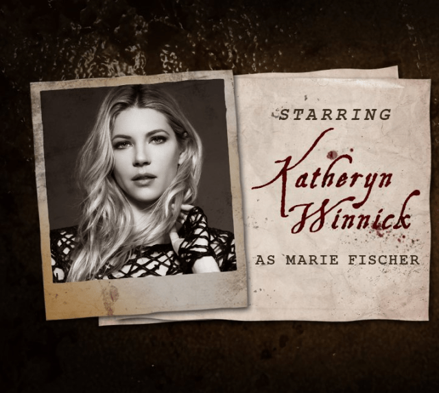 Call of Duty WW2 zombies actor Katheryn Winnick