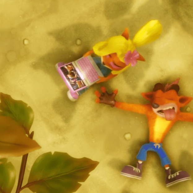Crash Bandicoot N Sane Trilogy Coco Beach Uncharted easter egg