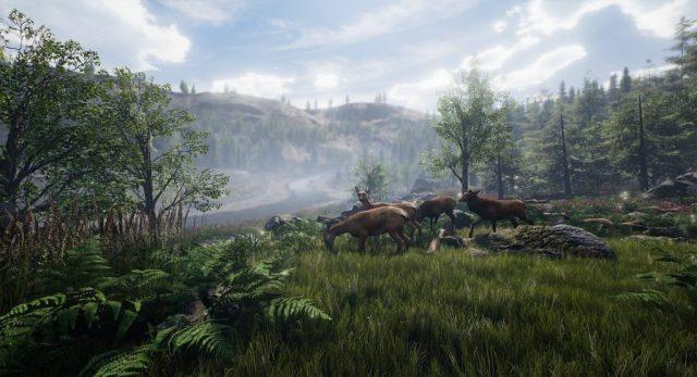 Dead Matter landscape screenshot with deer