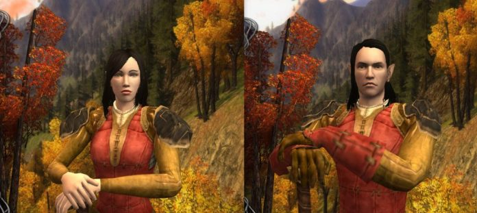 Lotro Mordor High Elf Male and Female Preview