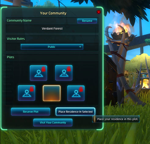 Wildstar Housing Communities preview