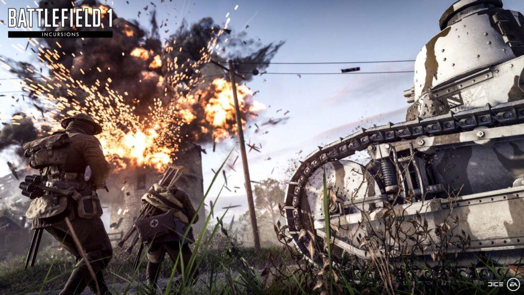 Battlefield 1 incursions trailer screenshot