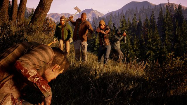 State of Decay 2 screenshot 4 player co-op