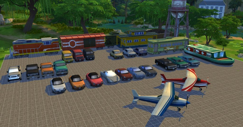 The Sims 4 Twisted Mexi decorative vehicle items