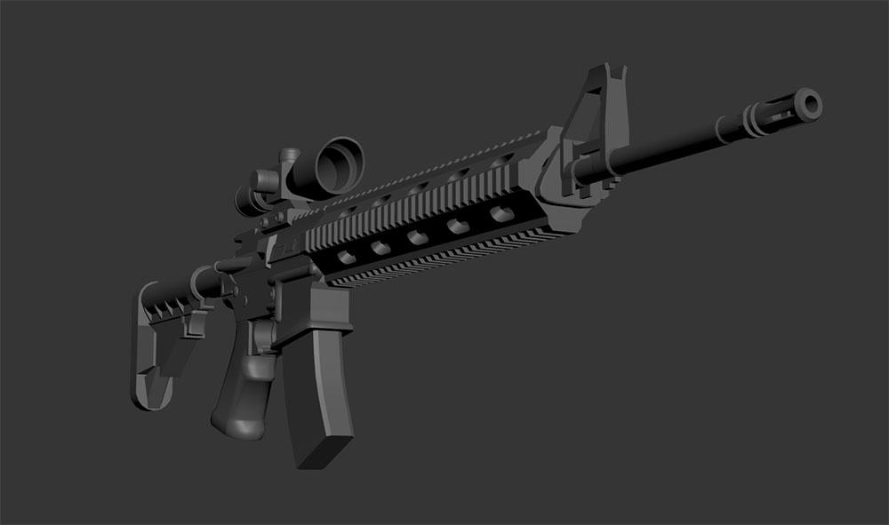 Dead Matter weapons screenshot preview gun