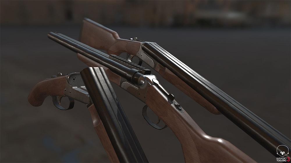 Dead Matter weapons screenshot preview guns