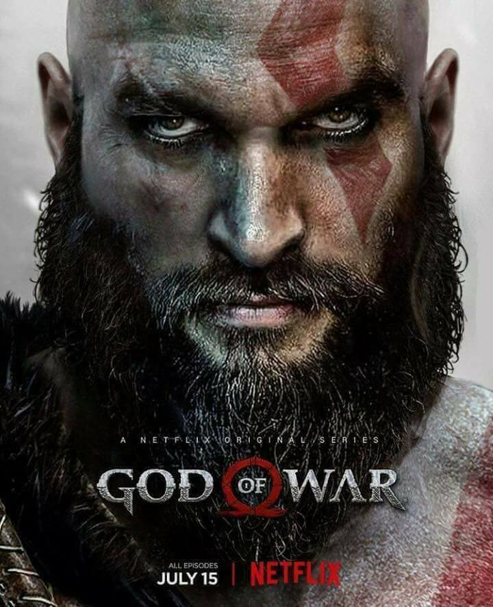God of War on Netflix Jason Momoa