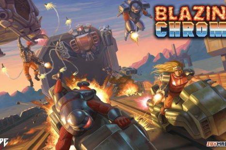 Blazing Chrome Gets Boss Trailer