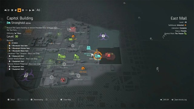 How To Unlock Capitol Building Stronghold In The Division 2