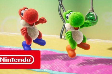 Yoshi's Crafted World Gets Yoshi 101 Trailer