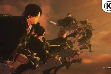 Attack on Titan 2: Final Battle Gets Launch Trailer