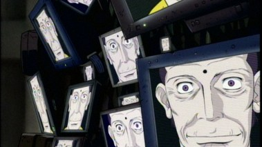Pieces of identity in the digital form. (image from Cowboy Bebop)