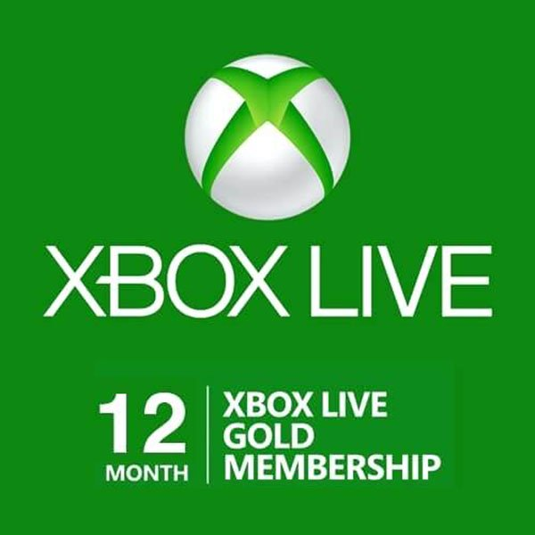 12-month Xbox Live Gold Subscriptions