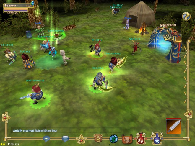 first cross-platform mmos created: play on pc, android