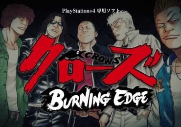 Trompadas de a duro nuevo video de Crows: Burning Edge para PS4