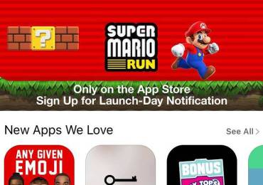 Demo de Super Mario Run Apple Store GamersRD
