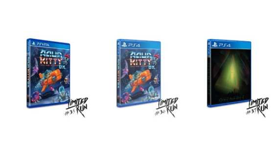 Limited Run Games anuncia los primeros títulos del 2017: Oxenfree y Aqua Kitty DX