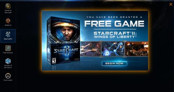 Blizzard esta regalando a muchos usuarios Star Craft 2: Wings of Liberty GamersRD