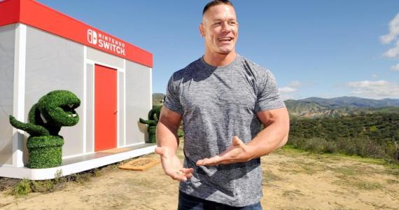 John Cena ayuda a promocionar Nintendo Switch GamersRD