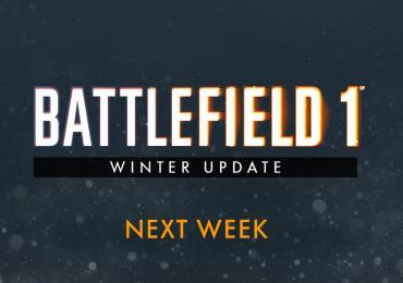 La actualización de Battlefield 1 Winter estará disponible la próxima semana-GamersRD
