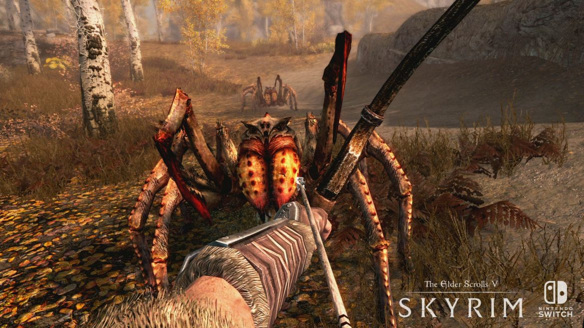 The Elder Scrolls V: Skyrim para Switch