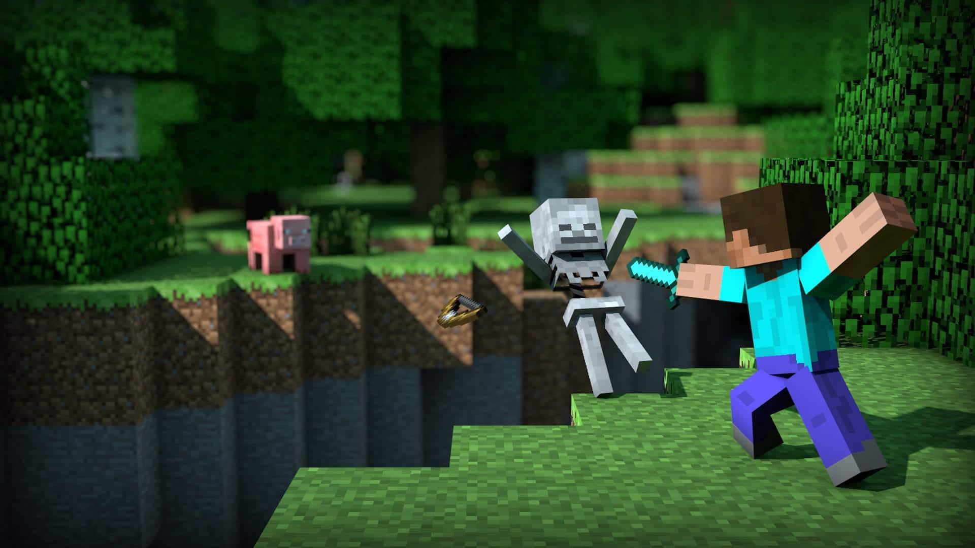 Minecraft en Nintendo Switch aumentó a calidad 1080p - GamersRD.com