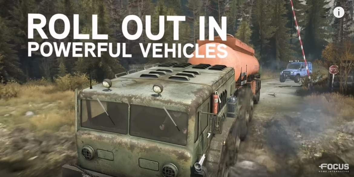 Spintires MudRunner ROLL OUT