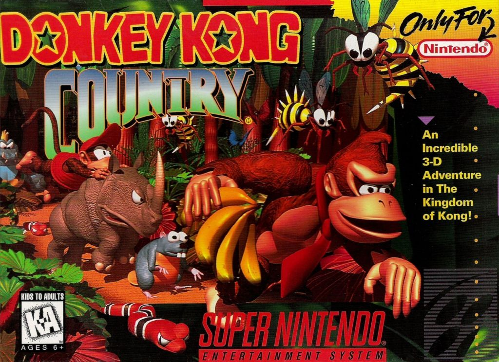 Donkey Kong Country-super nintendo-GamersRd