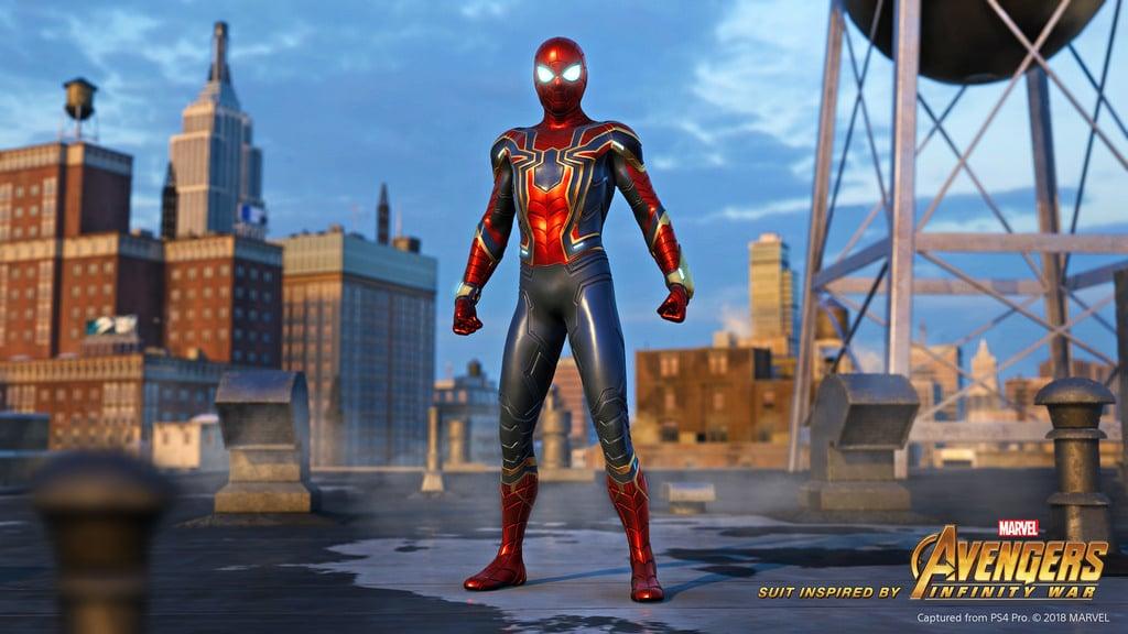 El traje de Iron Spider anunciado oficialmente para Spider-Man