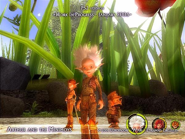 Arthur And The Invisibles Screenshot 4 PlayStation 2