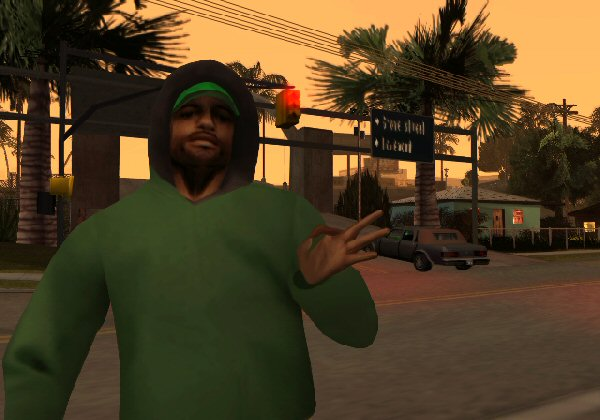 Grand Theft Auto San Andreas Screenshot 18 PlayStation