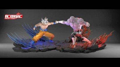 Dragon Ball Super Figure Goku v Jiren