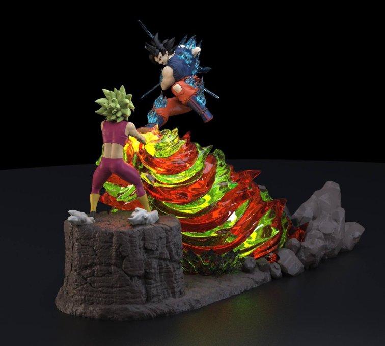 Dragon Ball Super Goku vs Kefla Figure-1